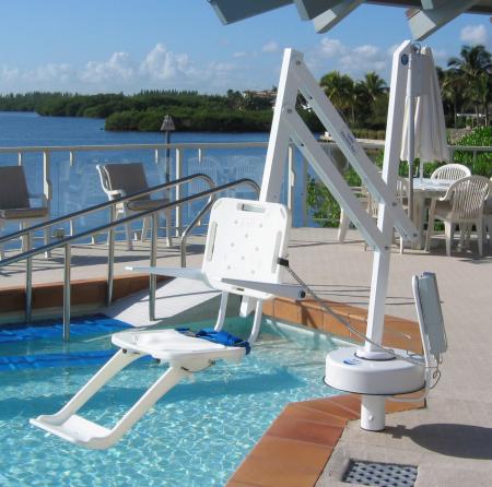 The Splash Swimming Pool Disability Hoist